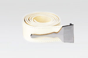 Leather Belt In Cream