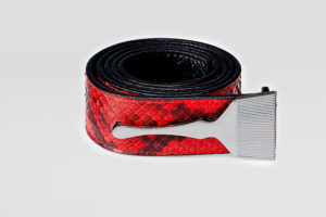 Snake Belt In Red