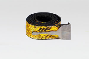 Snake Belt In yellow