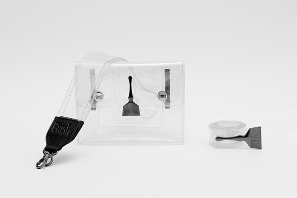 Brush Reflective Transparent Bag Original