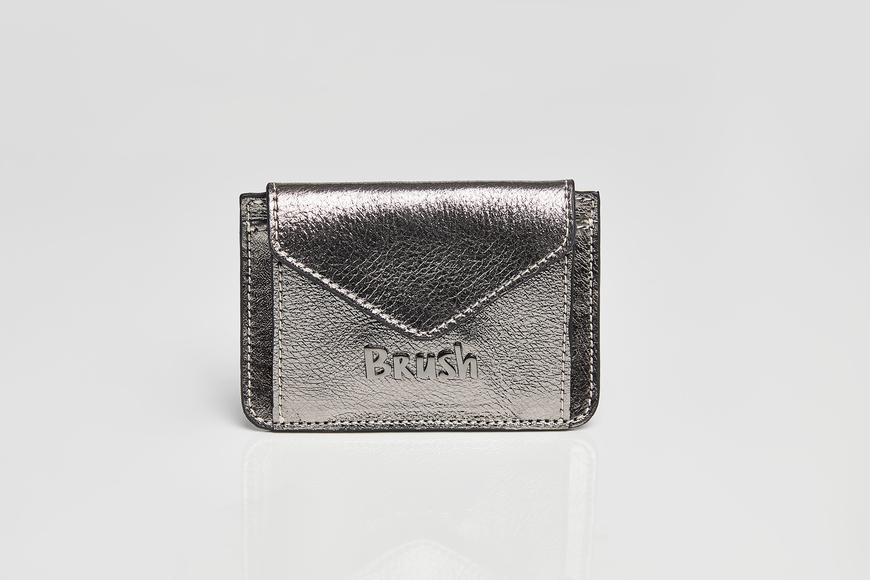 Card Holder Metallic Gray