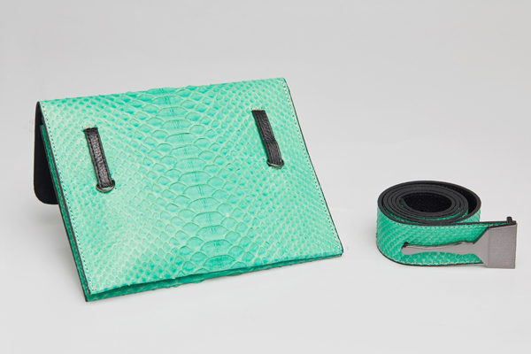 The Limited Edition Python Bag In Mint
