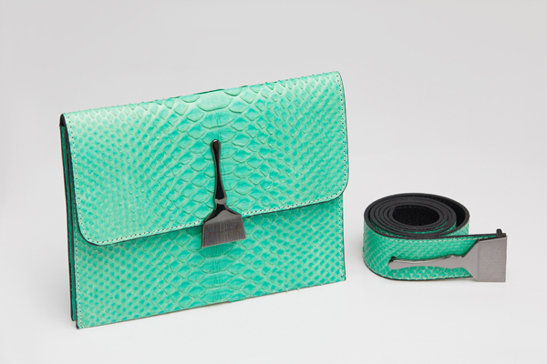 The Limited Edition Python Bag In Mint - Designer Bags Online