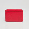 Card Holder Red - Leather Bags for Women