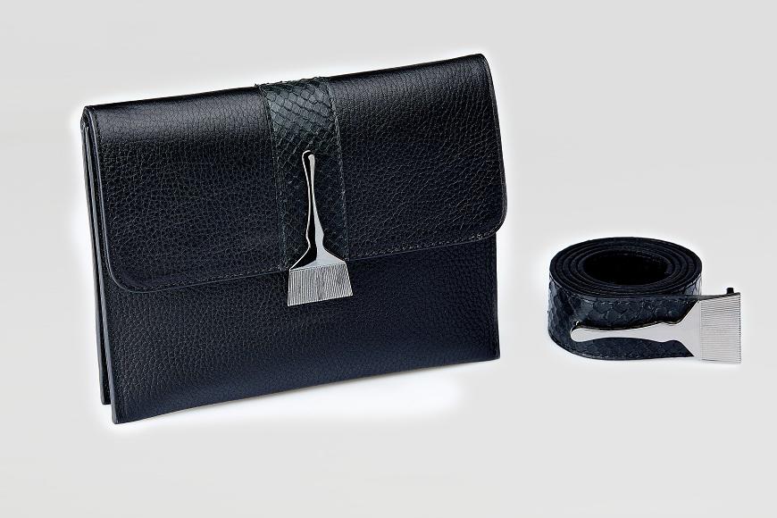 Stroke Of Wild Bag With Black Stripe - Designer Fanny Packs