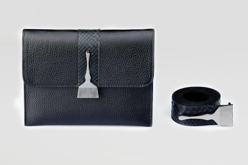 Stroke Of Wild Bag With Black Stripe