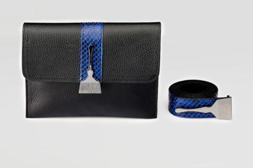 Stroke Of Wild Bag With Blue Stripe