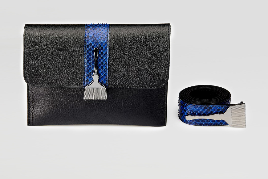 Stroke Of Wild Bag With Blue Stripe