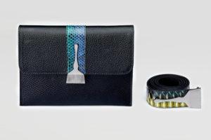 Stroke Of Wild Bag With Mix Stripe