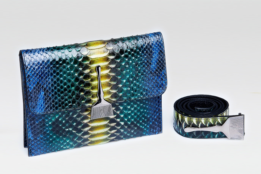 The Limited Edition Python Bag in Mix Color - Top Designer Purses