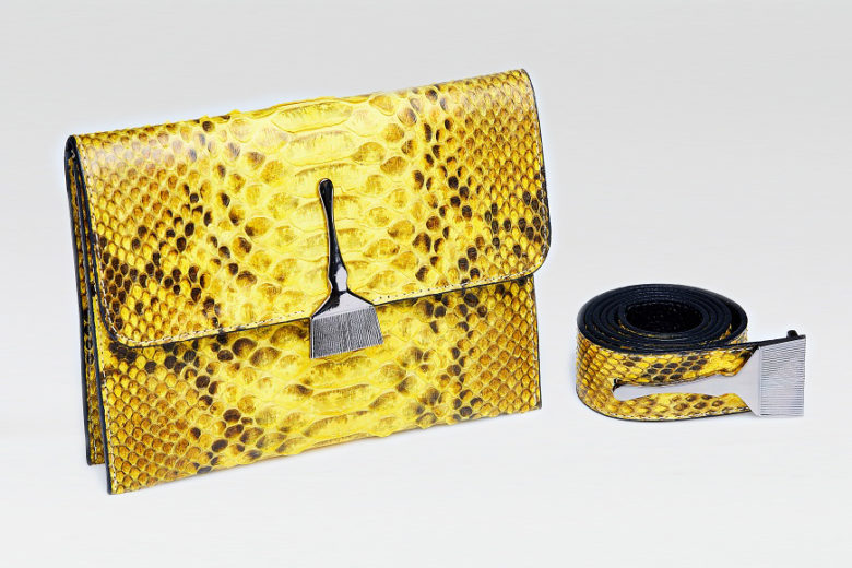 The Wild Bag In Yellow - Luxury Bags Online Shopping