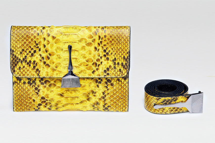 The Wild Bag In Yellow