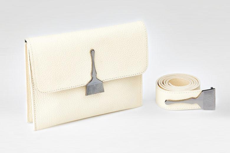 The Mild Bag In Beige - Designer Leather Bags
