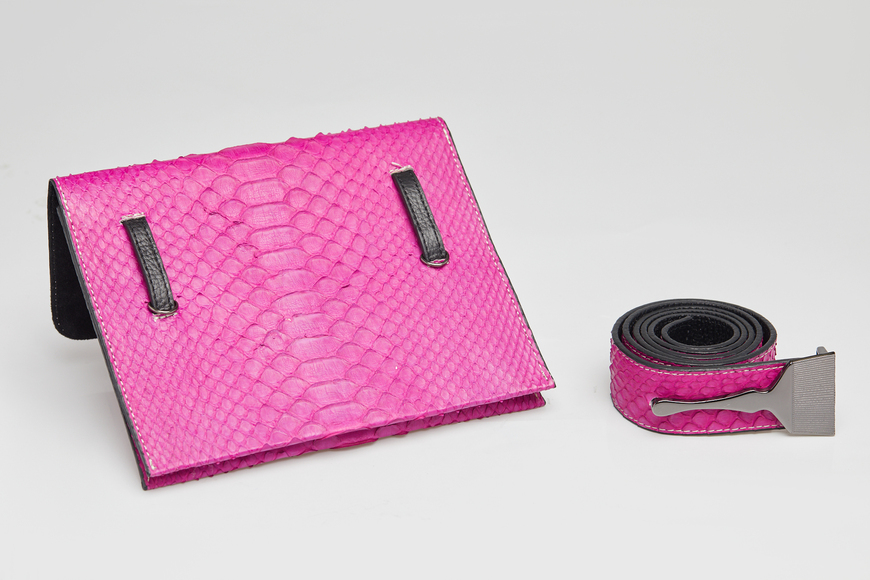 The Limited Edition Python Bag in Fuchsia - Most Popular Designer Bags