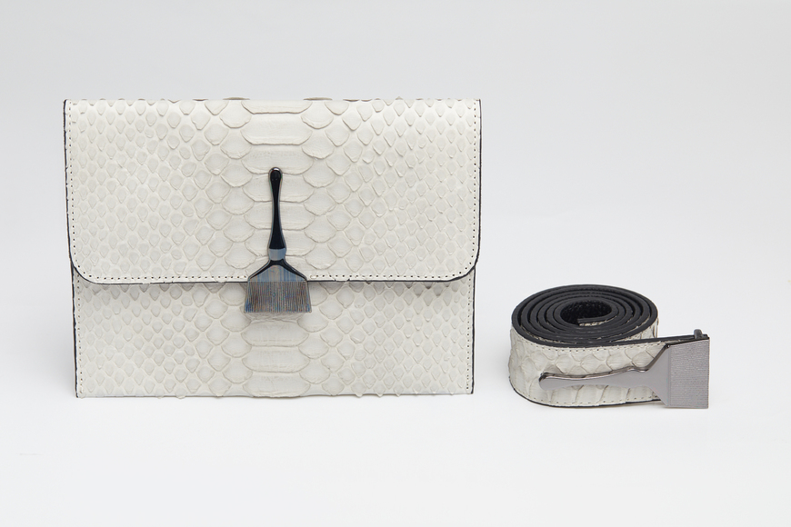The Limited Edition Python Bag in Gray