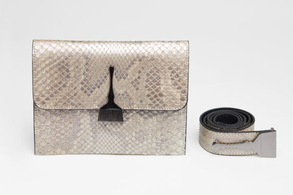 The Limited Edition Python Bag in Metallic