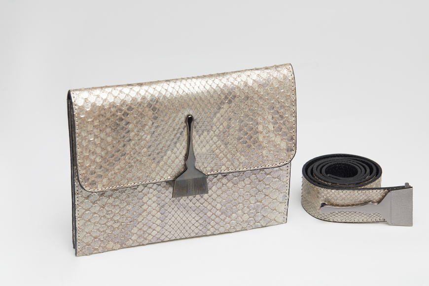 The Limited Edition Python Bag in Metallic - Buy Designer Handbags