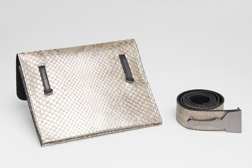 The Limited Edition Python Bag in Metallic - Genuine Snake Skin Bags