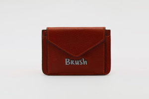 Card Holder in Brown - Designer Bags