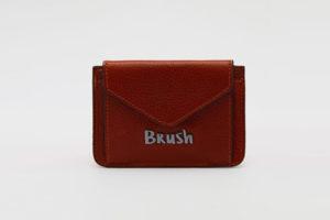 Card Holder in Brown - Designer Bags
