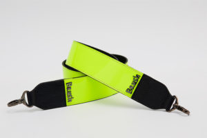 Wide Strap in Neon Green